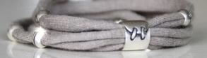 Textilo-Schmuck basteln