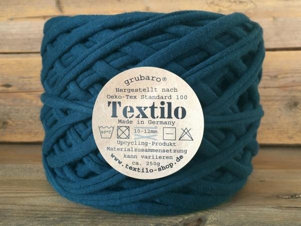 Textilo Textilgarn Blau-Petrol