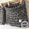DIY Körbe Häkeln aus Textilgarn