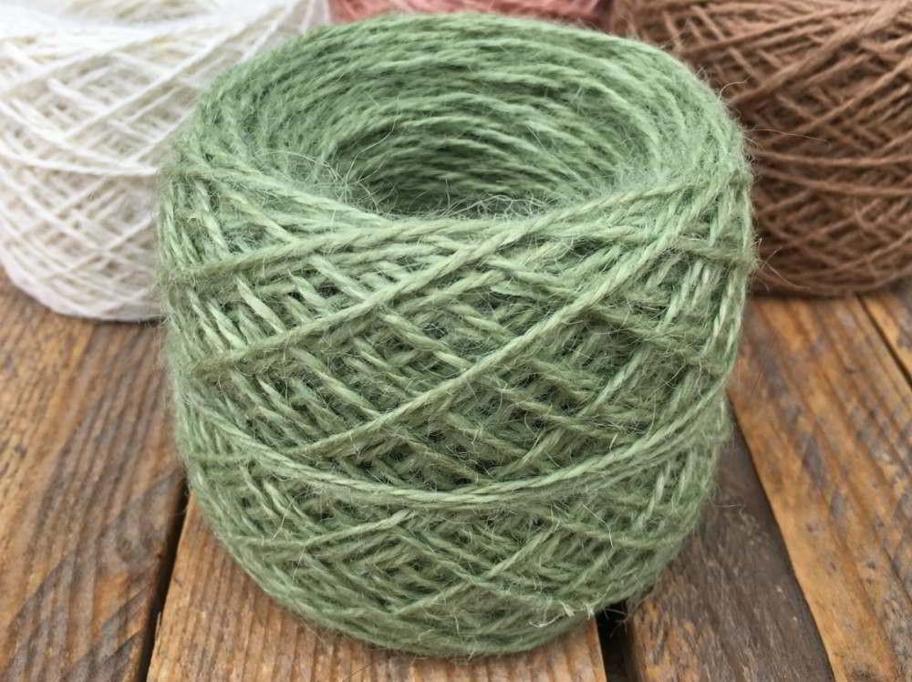Hanfgarn Hellgrün 50g