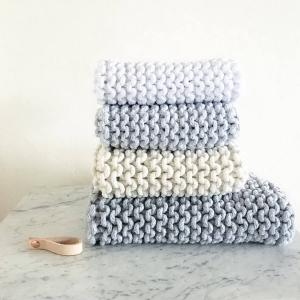 aus Kordel L - Handtücher stricken
