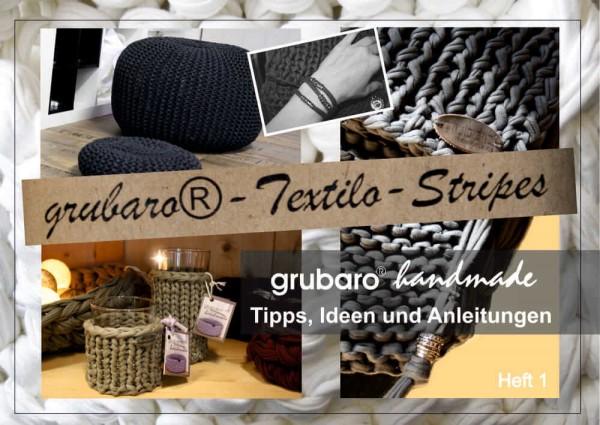 Anleitungen Heft 1: Tipps & Tricks zum häkeln und stricken mit Textilgarn