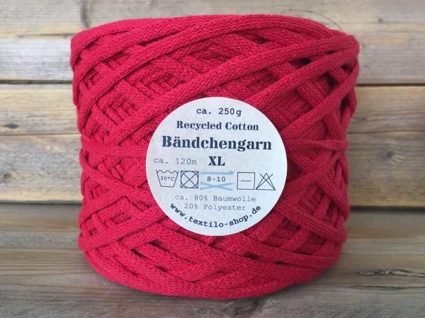 Bändchengarn XL-Neu Rot