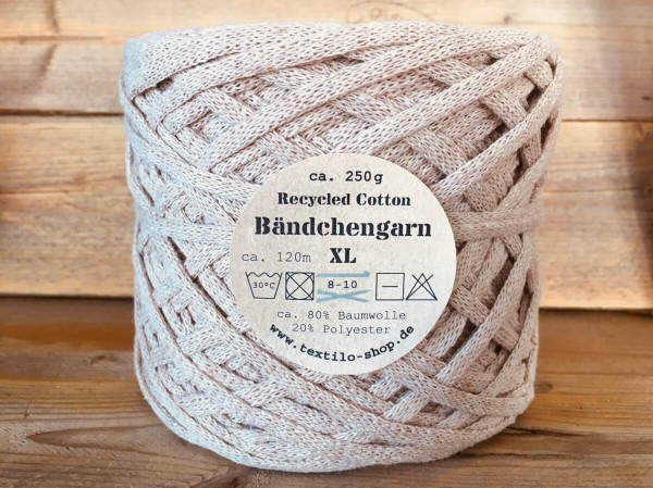Bändchengarn XL-Neu Sandrose