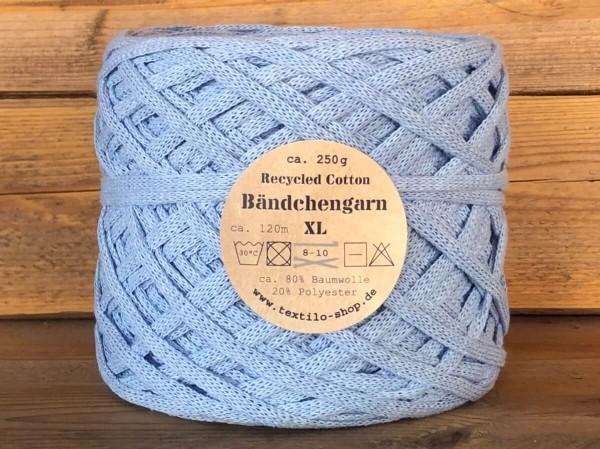 Bändchengarn XL-Neu Eisblau