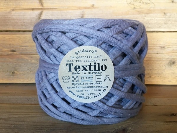 Textilgarn Mauve Textilo Stripe Typ T