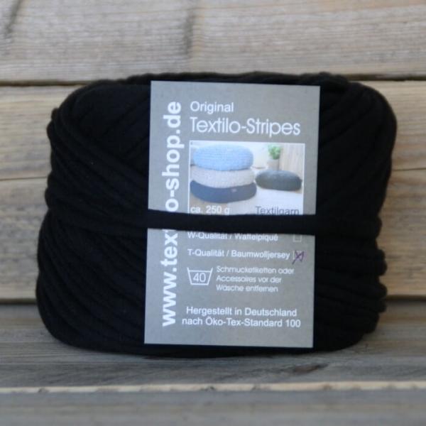 Textilgarn Textilo Typ T schwarz