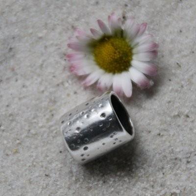 Metallröhre 15 x 11 mm, versilbert