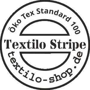 Textilo Stripe Öko Tex Standart 100