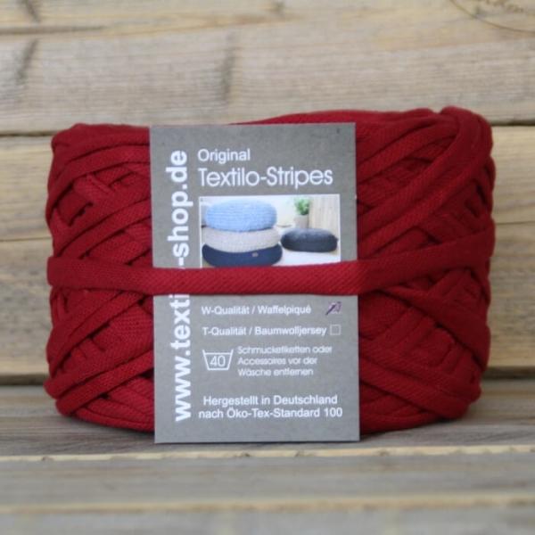 Textilo Stripe Karmesinrot