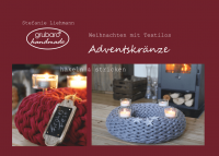 Cover Anleitung Adventskranz stricken & häkeln
