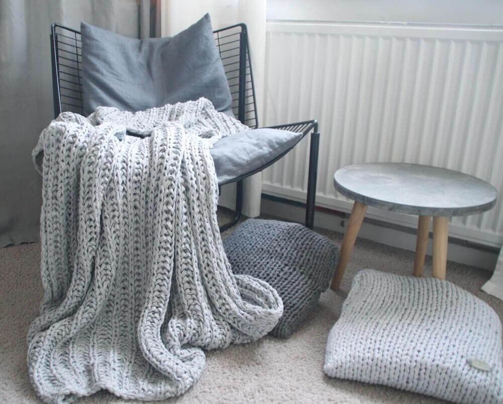 wieviel b ndchengarn brauche ich f r eine decke textilo. Black Bedroom Furniture Sets. Home Design Ideas