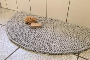Teppich aus Kordel L
