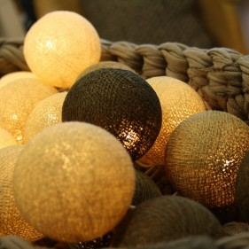 Cottonball Light, Lichterketten,