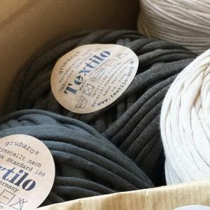Textilo Stripe Textilgarn gibt es hier
