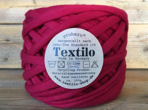 Textilo Karmesinrot Typ T Textilgarn
