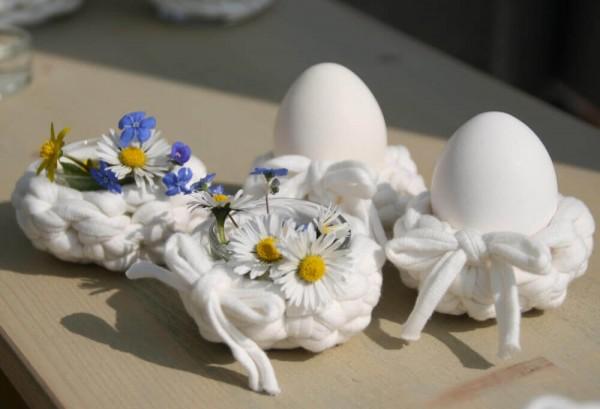 Häkelanleitung für der Eierbecher