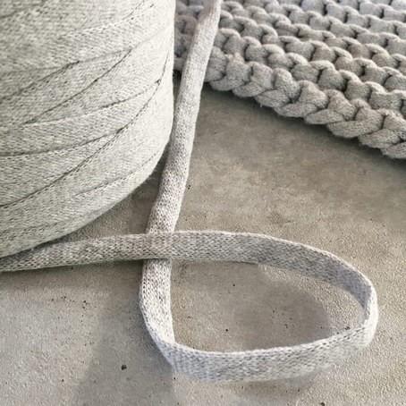 Dickes Strickband 10mm zum stricken + häkeln