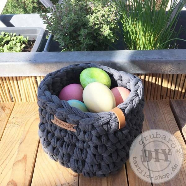 Osterkörbchen aus Textilo Stripe