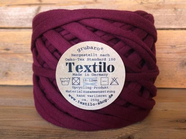 Textilo Burgund Typ T Textilgarn