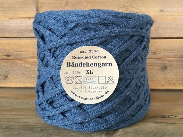 Bändchengarn XL-Neu Rauchblau