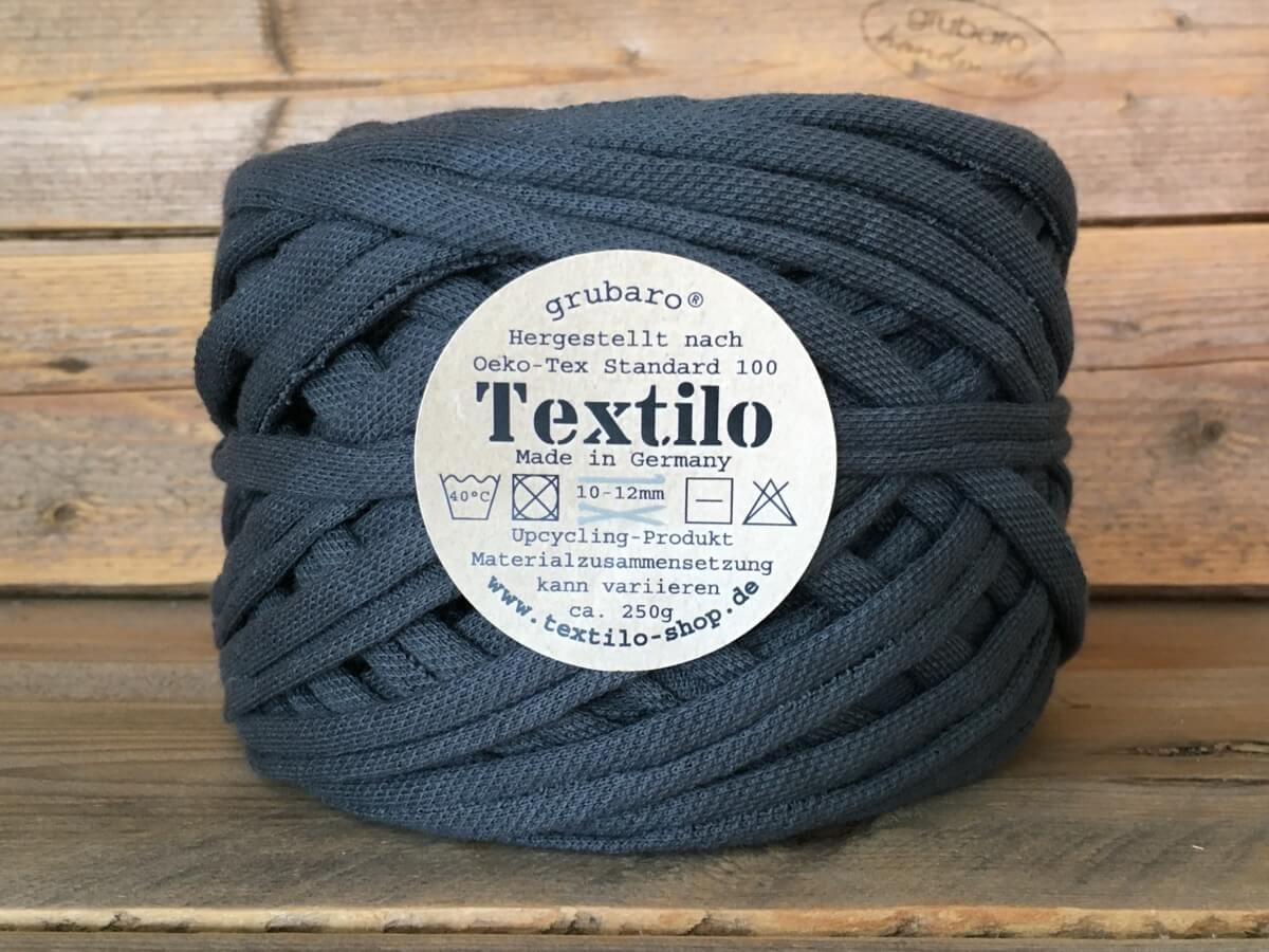 Textilo Anthrazit-Grau Typ W Textilgarn