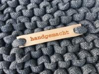 Lederschild - handgemacht