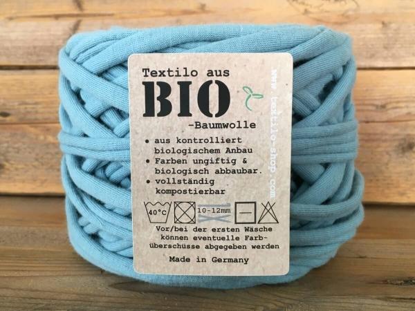 BIO-Textilo Textilgarn Arctic blue Typ T