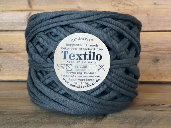 Textilo Stripe Anthrazit T Textilgarn 1