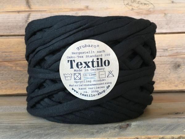Textilo Schwarz Typ T Textilgarn