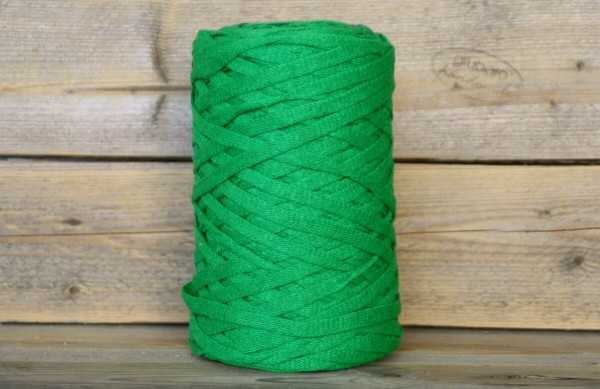 Bändchengarn XL Grasgrün