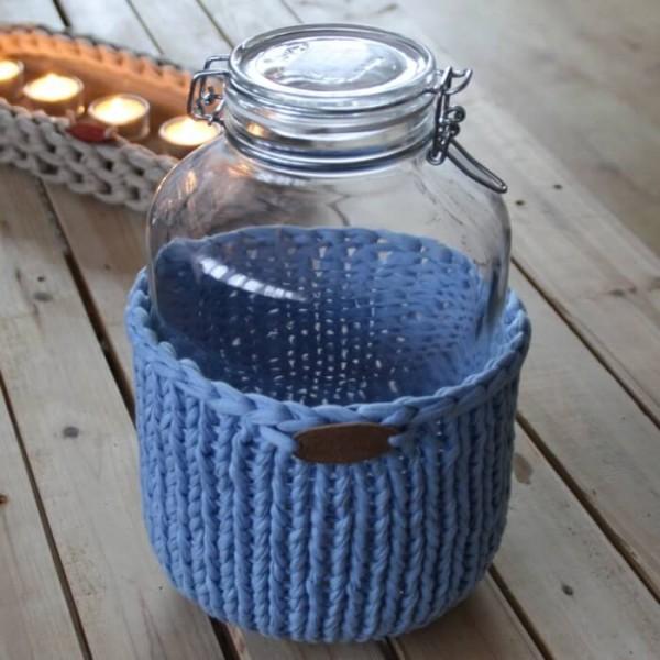 DIY Keksglas Strickset 2