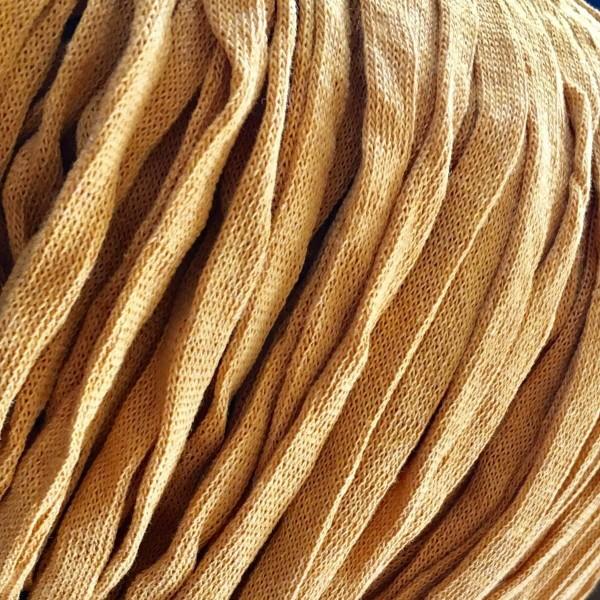Strickband Senf