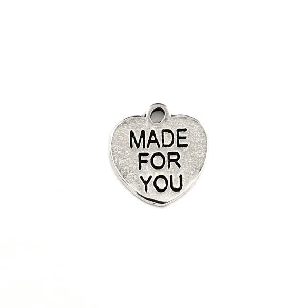 Herzanhänger Made For You