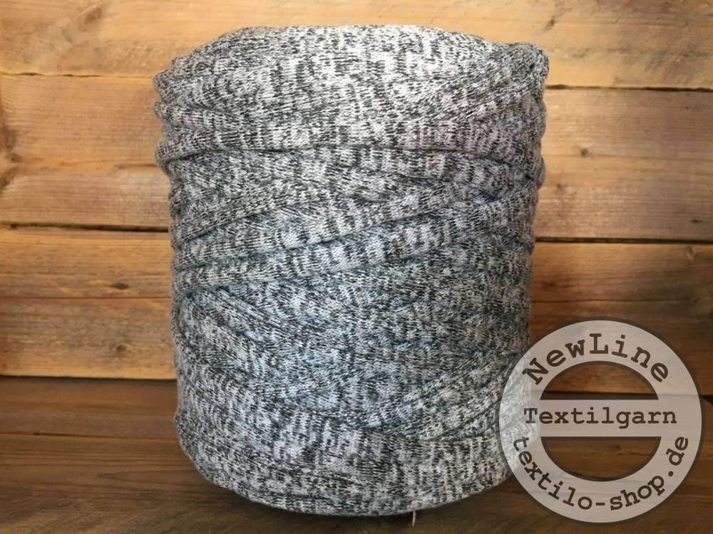 Textilgarn Zebra Grey NewLine