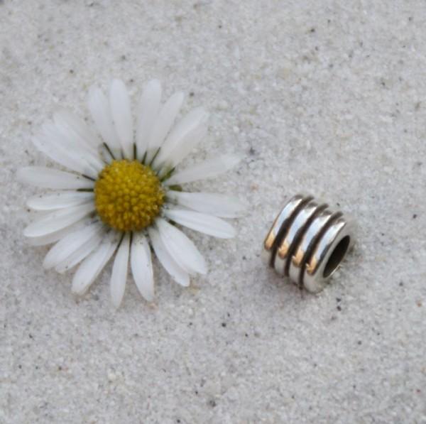 Metallröhre 7 x 9 mm versilbert